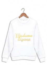 Sweatshirt Madame dépense
