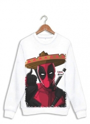 Sweatshirt Mexican Deadpool