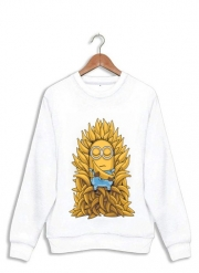 Sweatshirt Minion Throne