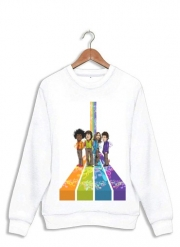 Sweatshirt Music Legends: Lennon, Jagger, Dylan & Hendrix