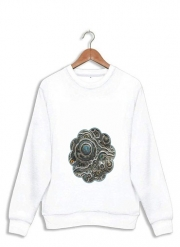 Sweatshirt Silver glitter bubble cells