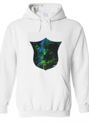Hoodie Abstract neon Leopard