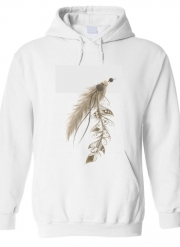 Sweat à capuche Boho Feather