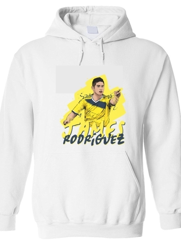 Hoodie Football Stars: James Rodriguez - Colombia