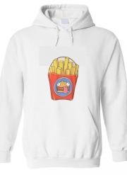 Sweat à capuche Frites
