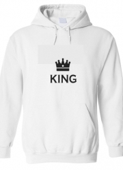 Sweat à capuche King