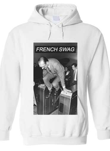 Sweat à capuche President Chirac Metro French Swag