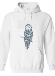 Sweat à capuche Snow Owl