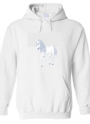 Hoodie The White Unicorn