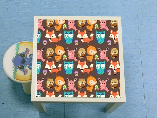Table basse Woodland friends