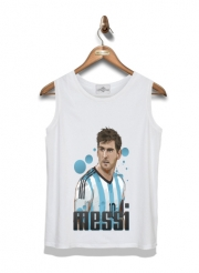 Kid Tank Top Football Legends: Lionel Messi World Cup 2014