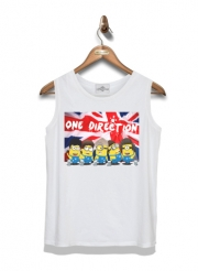 Kid Tank Top Minions mashup One Direction 1D