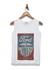 Kid Tank Top Motors vintage