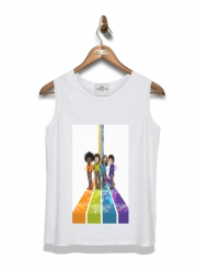 Kid Tank Top Music Legends: Lennon, Jagger, Dylan & Hendrix