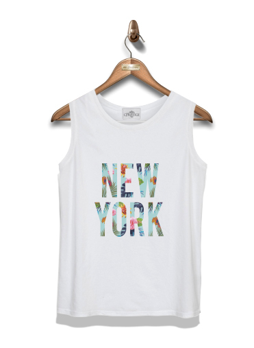 Kid Tank Top New York Floral