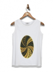 Kid Tank Top Twirl and Twist black and gold