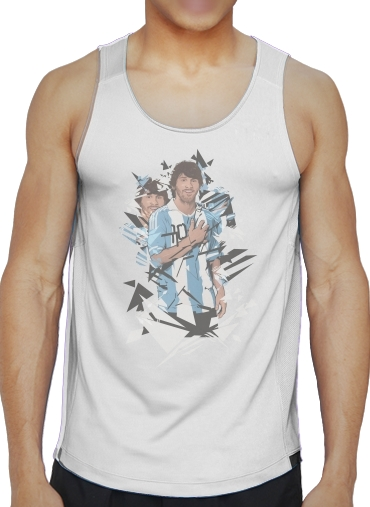 Tank tops Football Legends: Lionel Messi Argentina