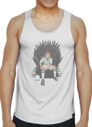 Tank tops Game of Thrones: King Lionel Messi - House Catalunya