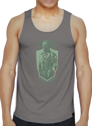 Tank tops MGS Phantom Pain Army Men Big Boss Diamond Dogs