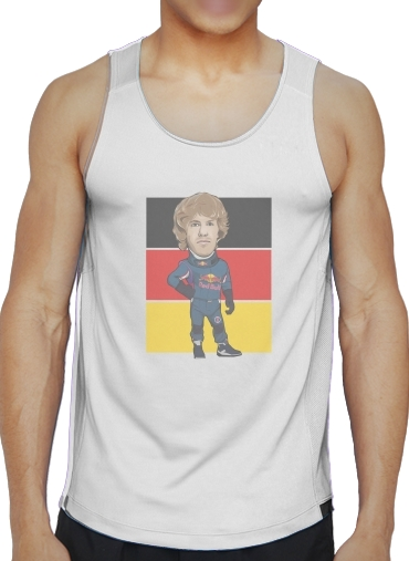Tank tops MiniRacers: Sebastian Vettel - Red Bull Racing Team