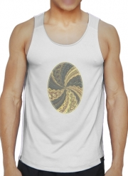 Tank tops Twirl and Twist black and gold