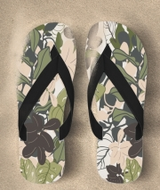Tongs BOHEMIAN TROPICAL FOLIAGE