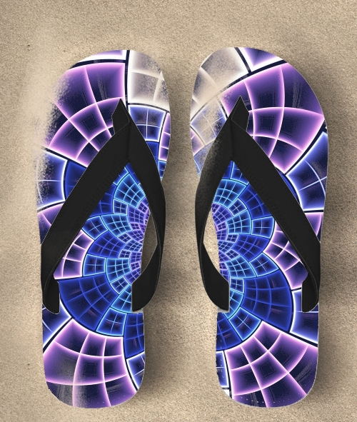 Flip Flop Stained Glass 2