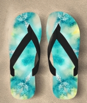 Tongs watercolor tiedye