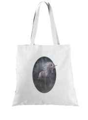 Tote Bag - Sac A dreamlike Unicorn walking through a destroyed city