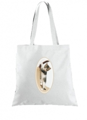 Tote Bag  Sac Bébé chat, mignon chaton escalade