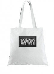Tote Bag - Sac Be who you are