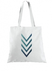 Tote Bag  Sac Blue Arrow