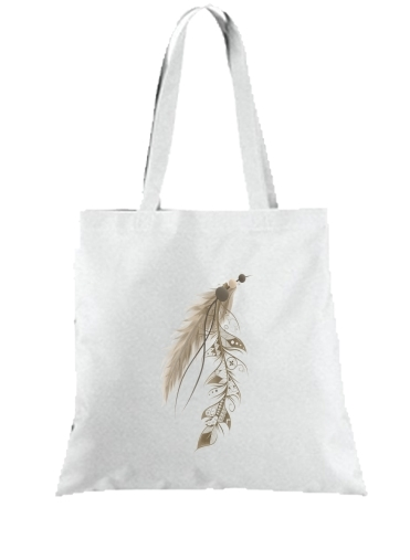Tote Bag - Sac Boho Feather