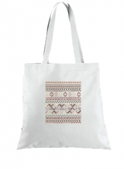 Tote Bag  Sac BROWN TRIBAL NATIVE