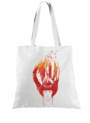 Tote Bag Burning Forest
