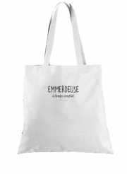 Tote Bag  Sac Emmerdeuse a temps complet