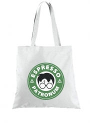 Tote Bag  Sac Espresso Patronum inspired by harry potter