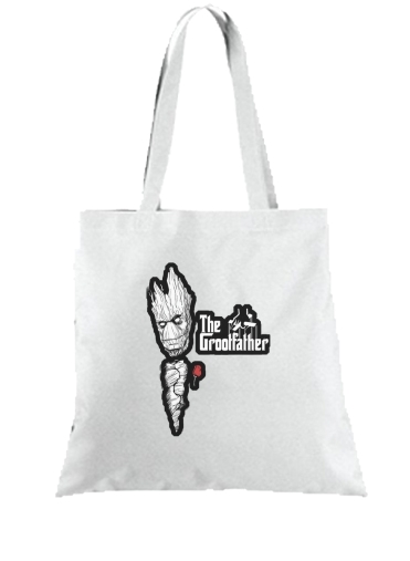 Tote Bag  Sac GrootFather is Groot x GodFather