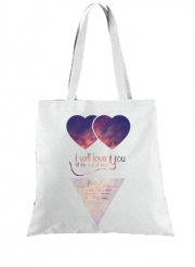 Tote Bag - Sac I will love you
