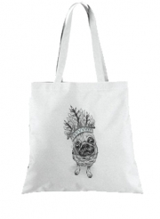 Tote Bag  Sac Indian Pug