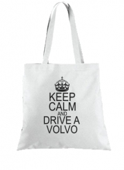 Tote Bag - Sac Keep Calm And Drive a Volvo