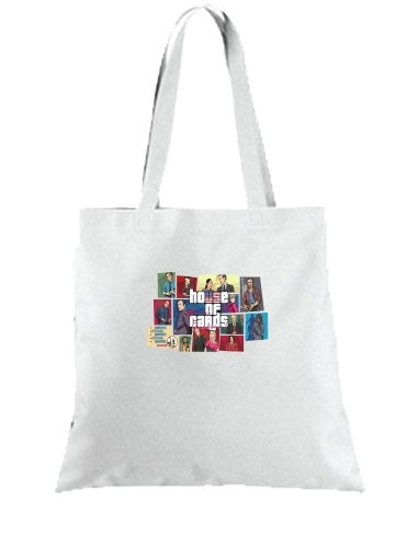 Tote Bag Mashup GTA and House of Cards