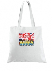 Tote Bag Minions mashup One Direction 1D
