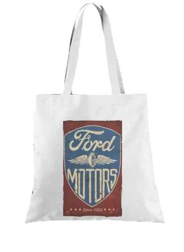 Tote Bag Motors vintage