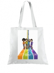 Tote Bag Music Legends: Lennon, Jagger, Dylan & Hendrix