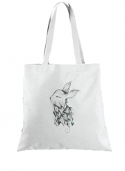 Tote Bag  Sac Poetic Rabbit