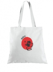 Tote Bag  Sac Red Sun Young Monkey