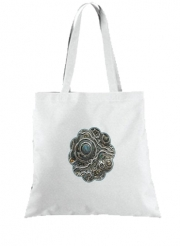 Tote Bag  Sac Silver glitter bubble cells