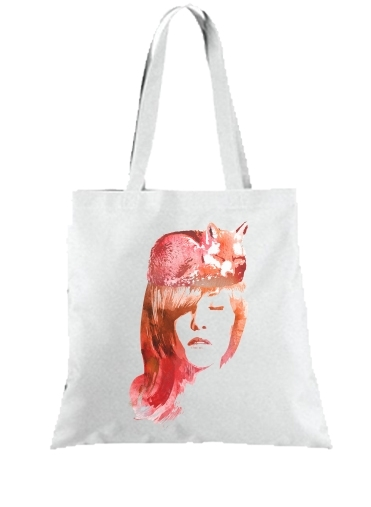Tote Bag  Sac Sleeping Fox