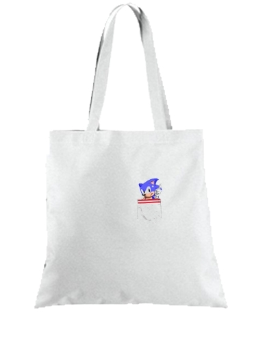 Tote Bag  Sac Sonic in the pocket